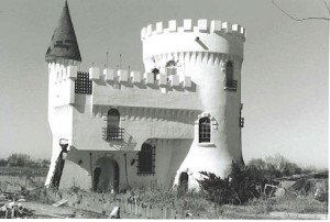 Castle still stands after Katrina. Built in the mid 1980s on Irish Bayou.