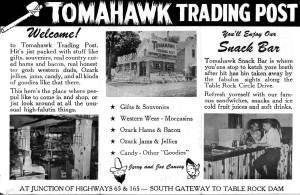 Tomahawk Trading Post Brochure
