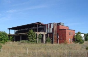 Deteriorating Munition Building